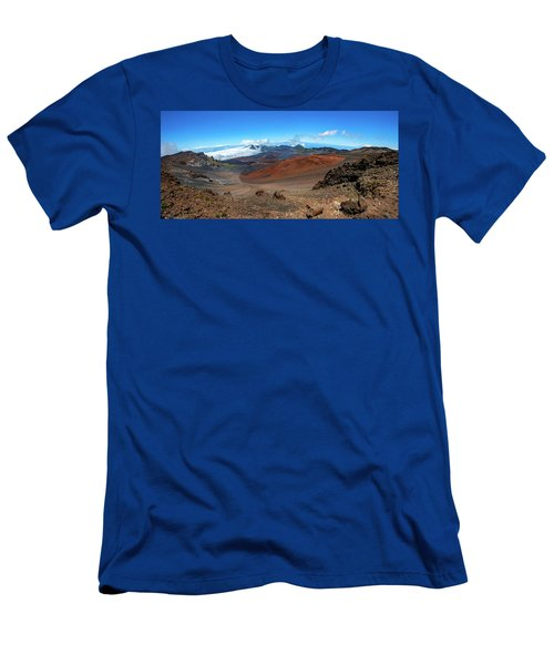 Haleakala Crater Panoramic Men's T-Shirt (Athletic Fit)