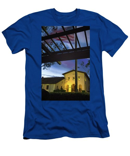 Half Staff At The Slo Mission Men's T-Shirt (Athletic Fit)