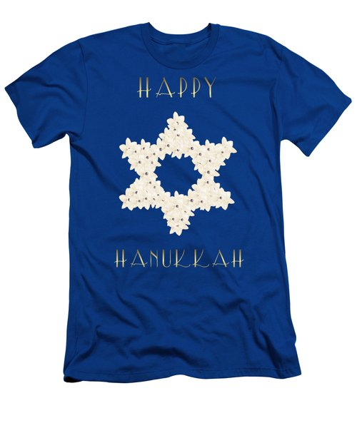 Happy Hanukkah  Men's T-Shirt (Athletic Fit)