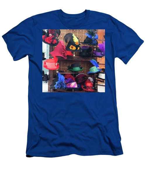 Heavenly Hats In Pastel Squared Men's T-Shirt (Athletic Fit)