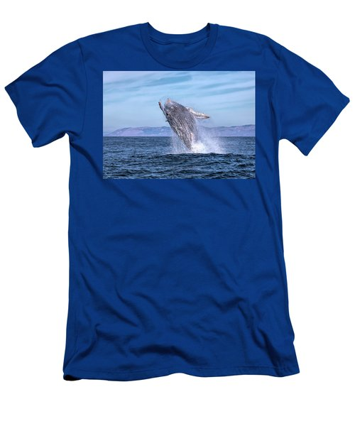 Humpback Breaching - 02 Men's T-Shirt (Athletic Fit)