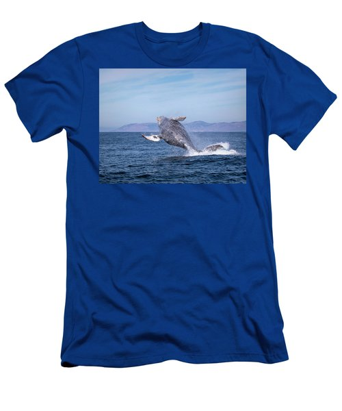 Humpback Breaching - 03 Men's T-Shirt (Athletic Fit)