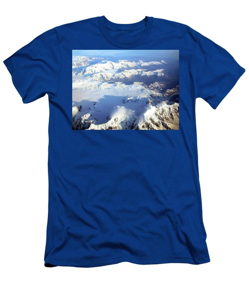 Icebound Mountains Men's T-Shirt (Athletic Fit)