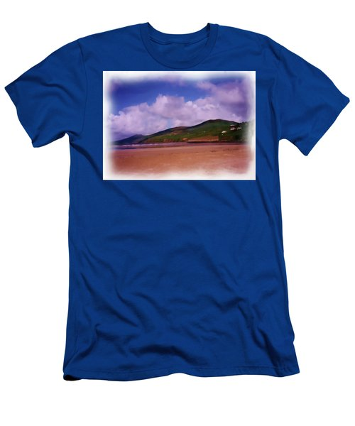 Inch Beach Painting Men's T-Shirt (Athletic Fit)