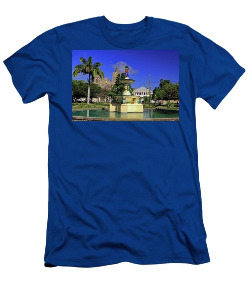 Men's T-Shirt (Athletic Fit) featuring the photograph Independence Park by Tony Murtagh