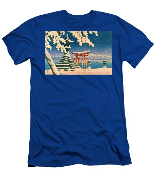 Itsukushia Temple - Top Quality Image Edition Men's T-Shirt (Athletic Fit)