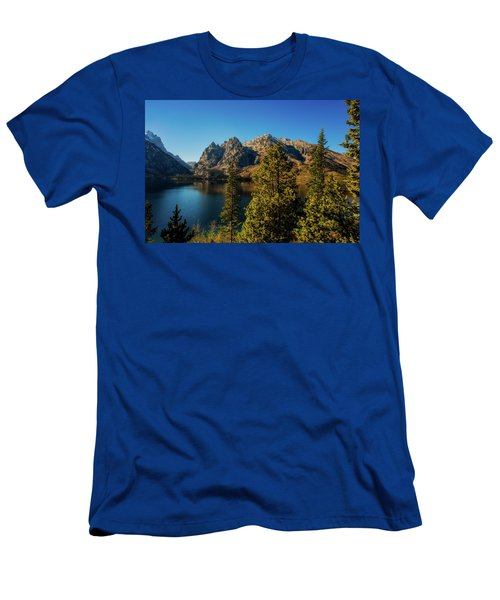 Men's T-Shirt (Athletic Fit) featuring the photograph Jenny Lake by Pete Federico