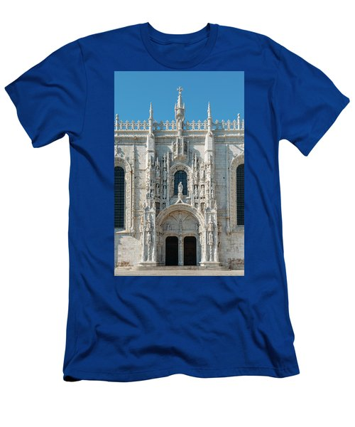Jeronimos Monastery, Portugal Men's T-Shirt (Athletic Fit)