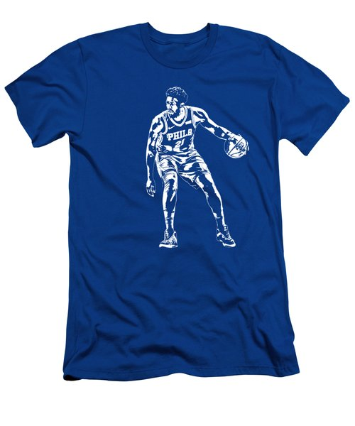 Joel Embiid Philadelphia 76ers T Shirt Apparel Pixel Art 2 Men's T-Shirt (Athletic Fit)