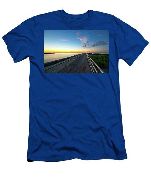 Jupiter Inlet Morning Sky Men's T-Shirt (Athletic Fit)