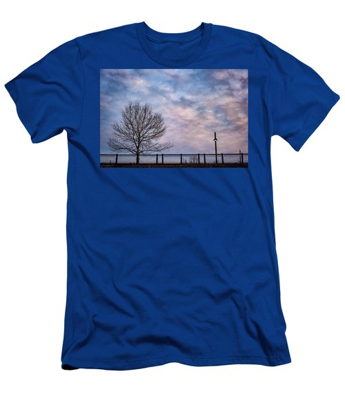 Kaw Point Silhouettes Men's T-Shirt (Athletic Fit)