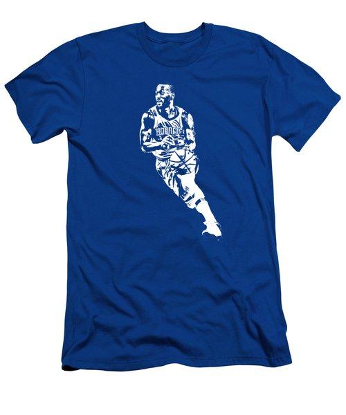 Kemba Walker Charlotte Hornets T Shirt Apparel Pixel Art 2 Men's T-Shirt (Athletic Fit)
