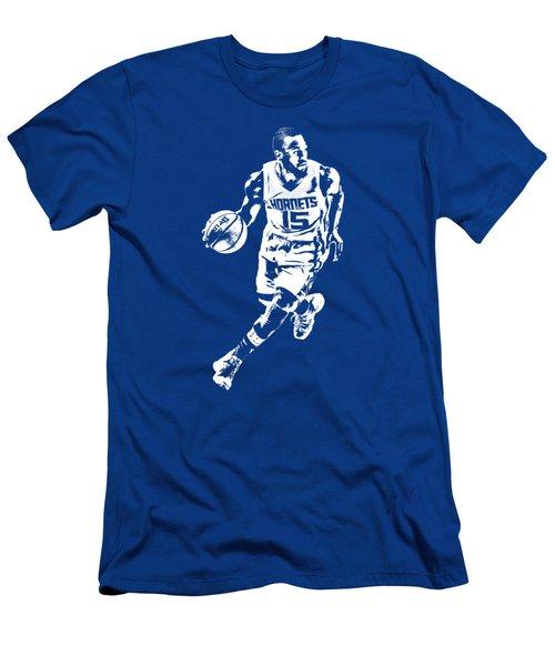 Kemba Walker Charlotte Hornets T Shirt Apparel Pixel Art 4 Men's T-Shirt (Athletic Fit)
