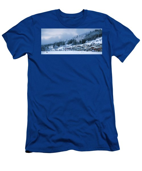 Koprivshtica Winter Panorama Men's T-Shirt (Athletic Fit)