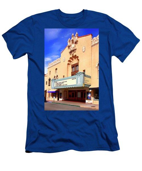 Lensic Performing Arts Center Men's T-Shirt (Athletic Fit)