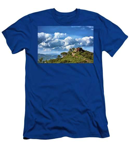 Like Touching The Sky Men's T-Shirt (Athletic Fit)