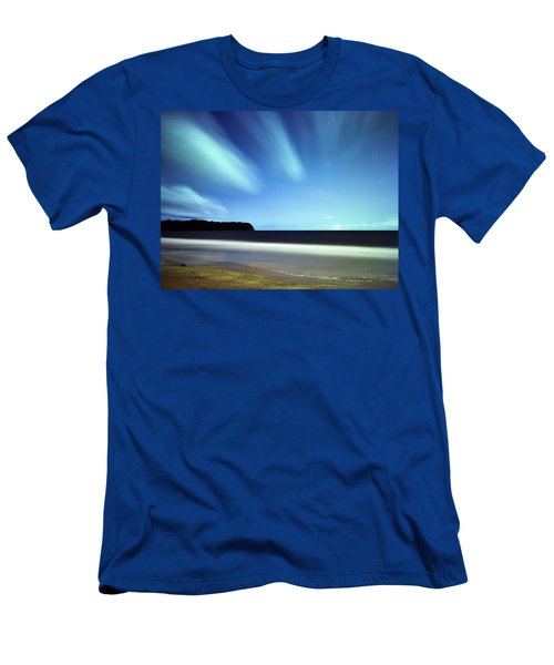 Linear Clouds Over Mayaro Men's T-Shirt (Athletic Fit)