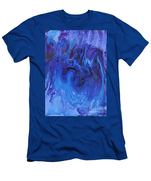 Living Water Abstract Men's T-Shirt (Athletic Fit)