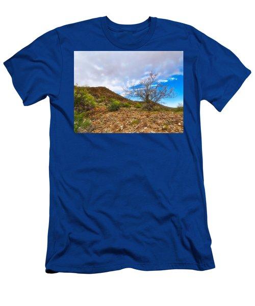 Lone Palo Verde Men's T-Shirt (Athletic Fit)