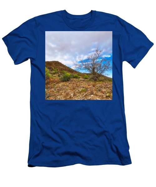 Lone Palo Verde Men's T-Shirt (Athletic Fit)