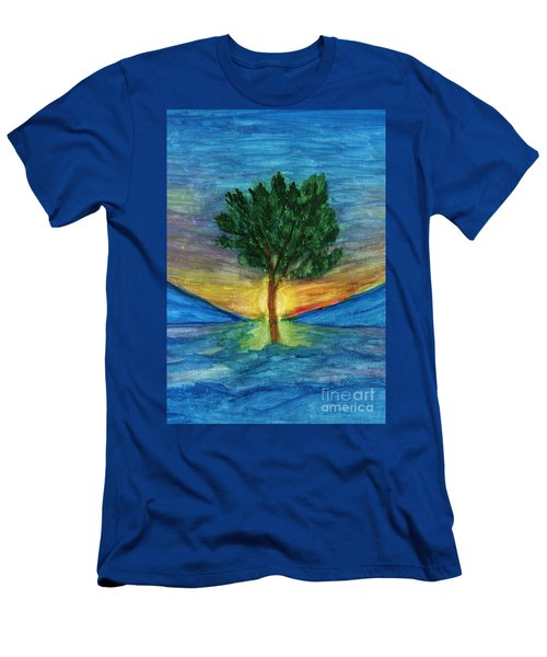 Lonely Pine Men's T-Shirt (Athletic Fit)