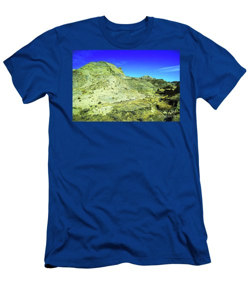 Makoshika Landscape Men's T-Shirt (Athletic Fit)