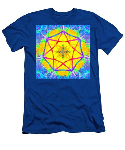 Mandala 12 9 2018 Men's T-Shirt (Athletic Fit)