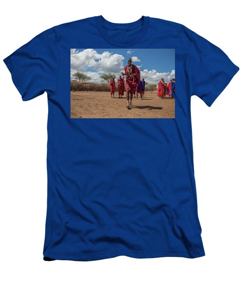 Maasai Welcome Men's T-Shirt (Athletic Fit)