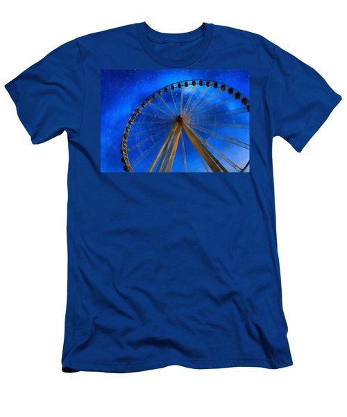 Milky Way Ride Men's T-Shirt (Athletic Fit)