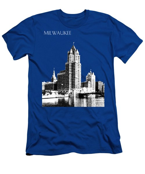 Milwaukee Skyline - 4 - Coral Men's T-Shirt (Athletic Fit)