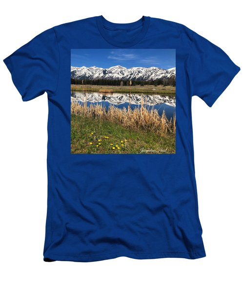 Mountain Reflection Men's T-Shirt (Athletic Fit)
