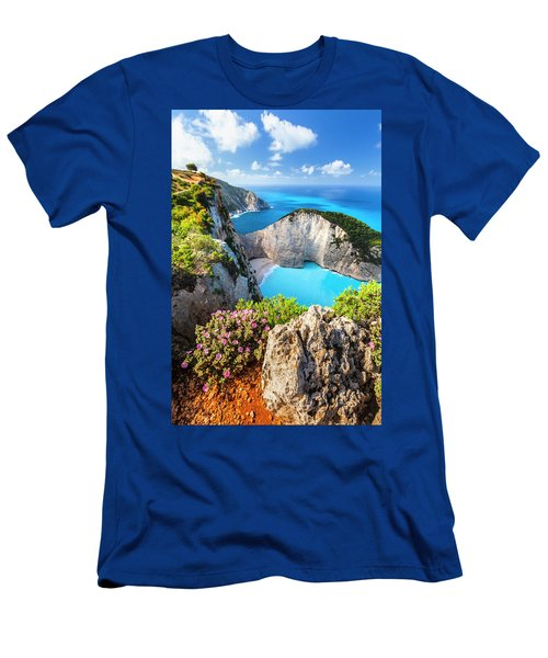 Navagio Bay Men's T-Shirt (Athletic Fit)