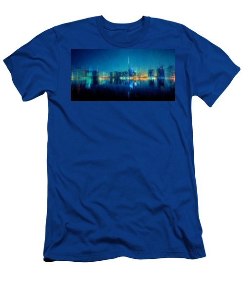 Night Of The City Men's T-Shirt (Athletic Fit)