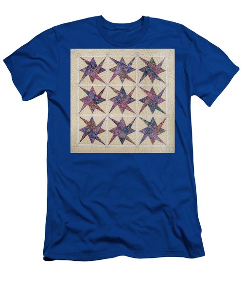 Nine Stars Dipping Their Toes In The Sea Sending Ripples To The Shore Men's T-Shirt (Athletic Fit)