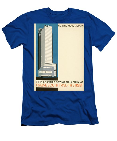 Nothing More Modern The Philadelphia Savings Fund Society Building, 1932 Men's T-Shirt (Athletic Fit)
