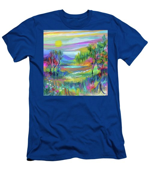 Pastel Landscape Men's T-Shirt (Athletic Fit)