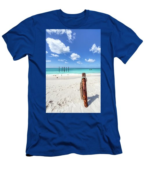 Pelicans Perch Men's T-Shirt (Athletic Fit)