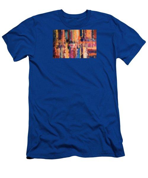 Playful Colors Iv Men's T-Shirt (Athletic Fit)