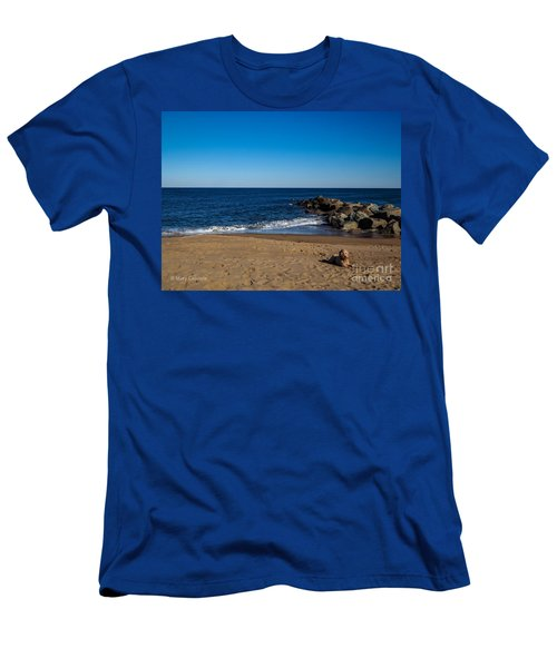 Plum Island Scene Men's T-Shirt (Athletic Fit)