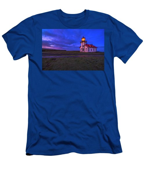 Point Cabrillo Light Station - 3 Men's T-Shirt (Athletic Fit)
