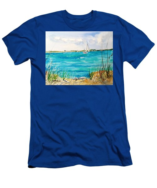 Ponce Inlet Men's T-Shirt (Athletic Fit)