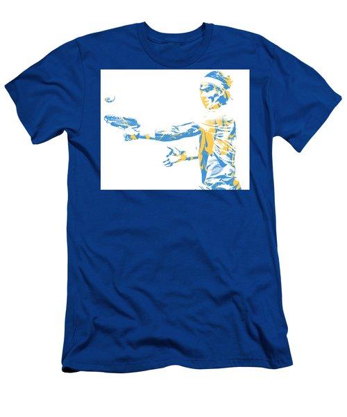 Rafael Nadal Tennis Pixel Art 2 Men's T-Shirt (Athletic Fit)