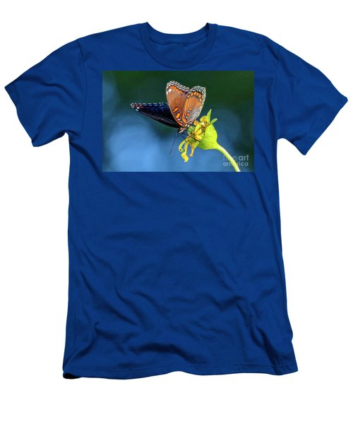 Red-spotted Purple Butterfly Men's T-Shirt (Athletic Fit)