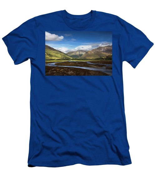 Ribbon Of Blue Men's T-Shirt (Athletic Fit)