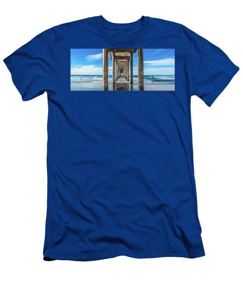Scripps Pier La Jolla California Men's T-Shirt (Athletic Fit)