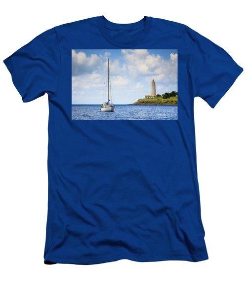 Seascapes 4 Men's T-Shirt (Athletic Fit)