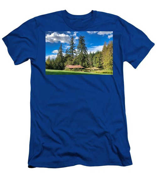 Men's T-Shirt (Athletic Fit) featuring the photograph September Skies by Brian Eberly
