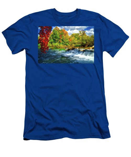 Men's T-Shirt (Athletic Fit) featuring the photograph Sidelined Beauty by Lynn Bauer
