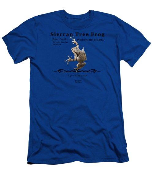Sierran Tree Frog Pseudacris Sierra Men's T-Shirt (Athletic Fit)