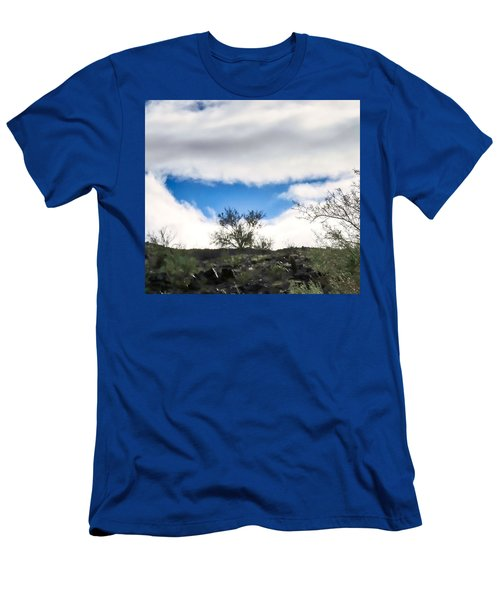 Men's T-Shirt (Athletic Fit) featuring the photograph Smile by Judy Kennedy